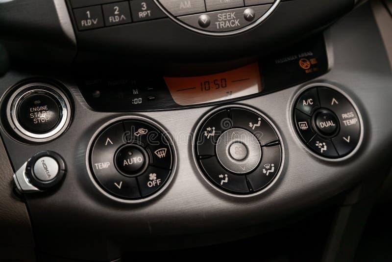 Design de interiores do carro moderno imagem de stock royalty free
