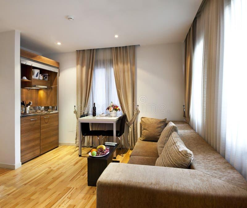 Design de interiores Home fotografia de stock