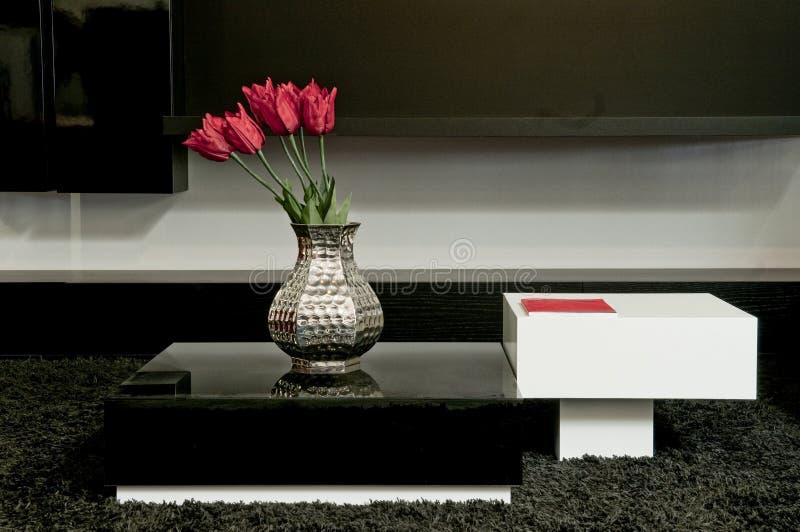 Design de interiores na casa moderna fotos de stock