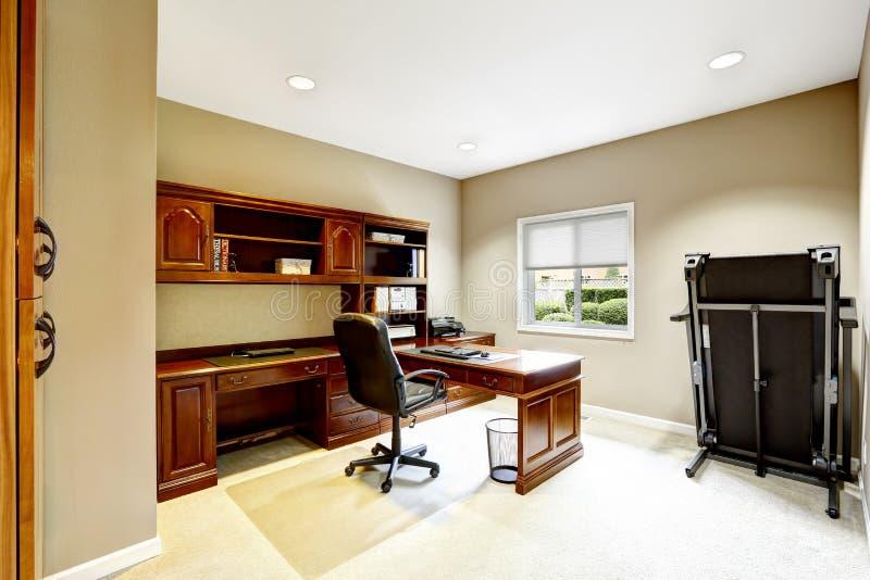 Design de interiores prático Sala do escritório imagens de stock royalty free