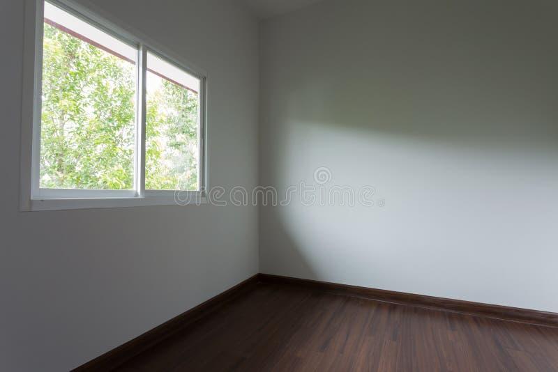 Design de interiores vazio da sala fotografia de stock