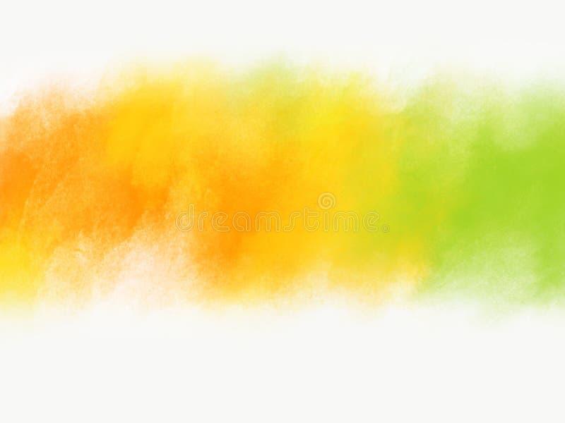 Design di sfondo del festival Holi per l'effetto splashing del colore con spazio di copia immagine stock libera da diritti