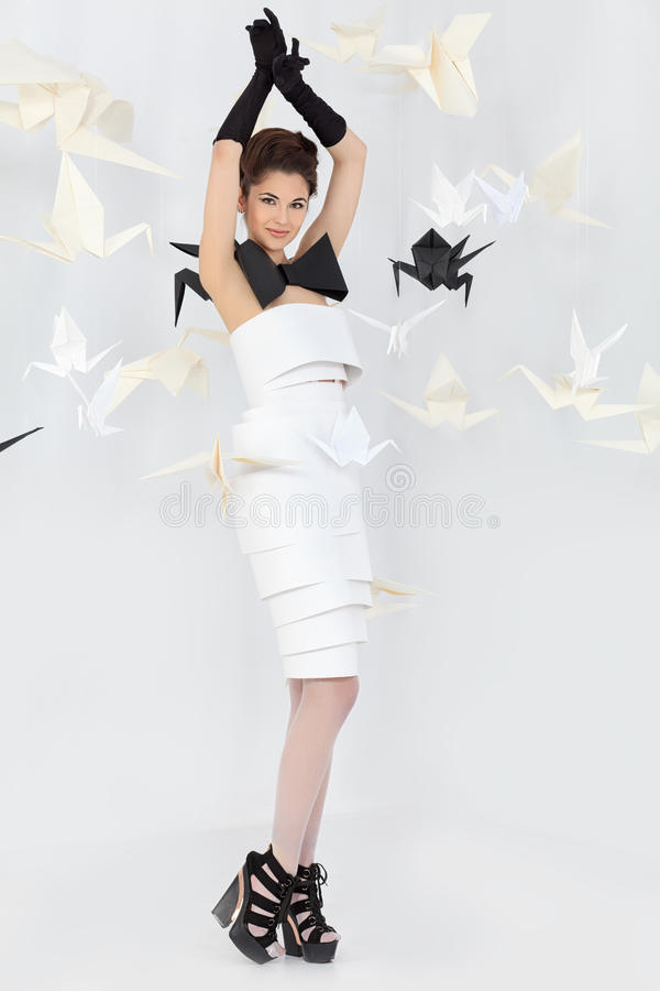 Download Design dress stock photo. Image of birds, clothes, adult - 33829438