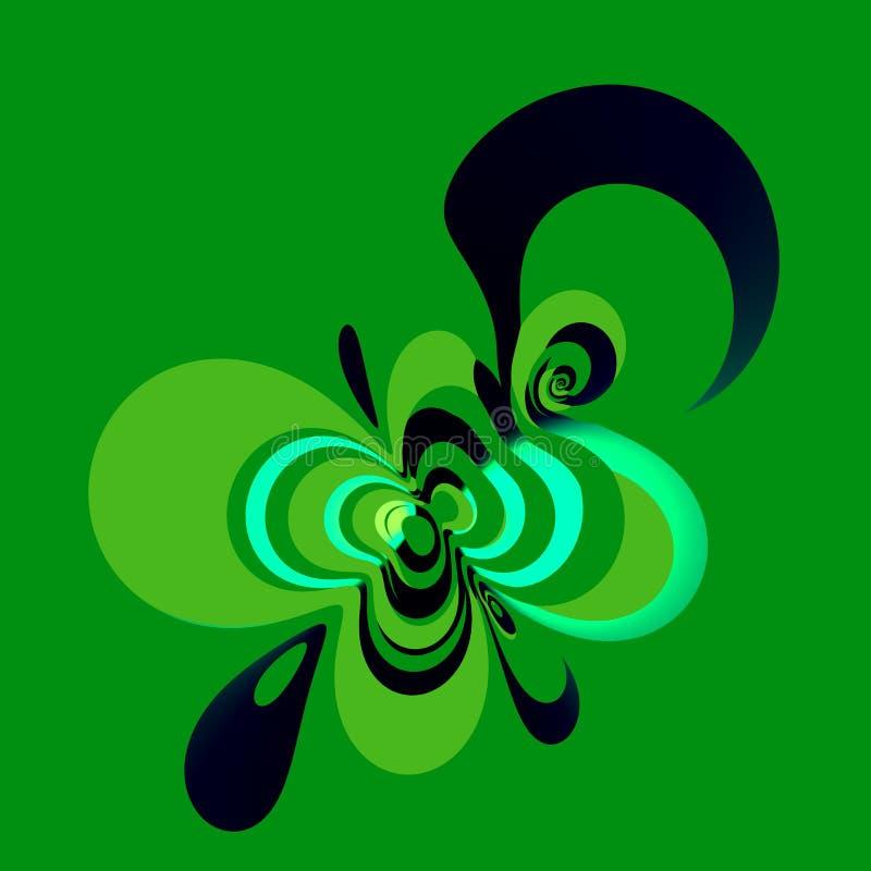 Design element. Abstract composition. Color image. Icon picture. Sign symbol. Digital art background. Computer logo. Fantasy illustration. Creative ornament vector illustration