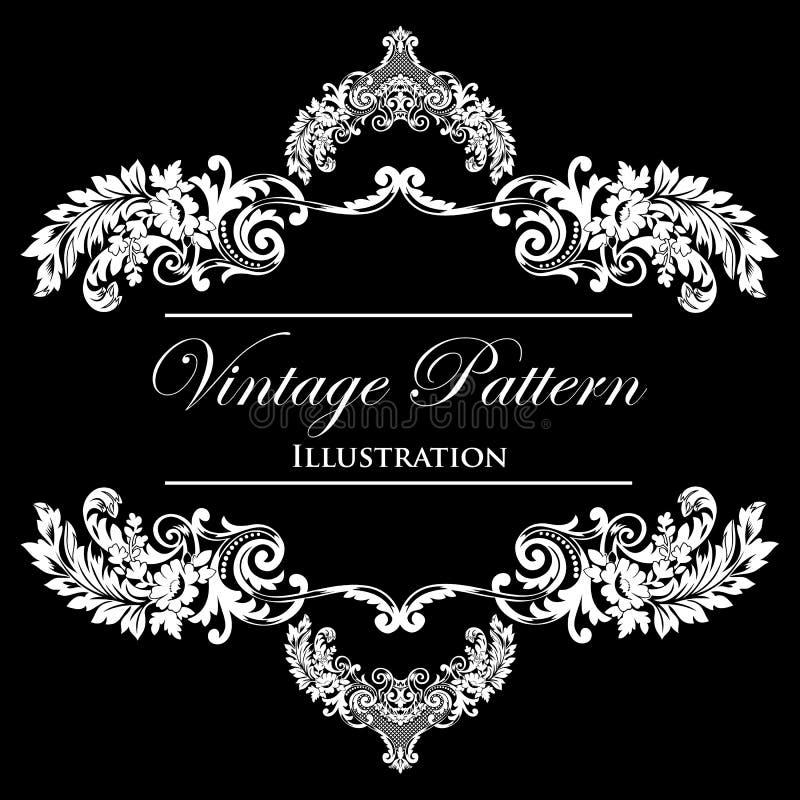 Download Design Element On A Black Background Royalty Free Stock Image - Image: 23365816