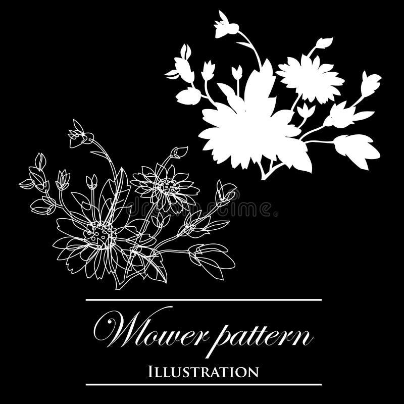 Download Design Element On A Black Background Stock Illustration - Image: 23465173
