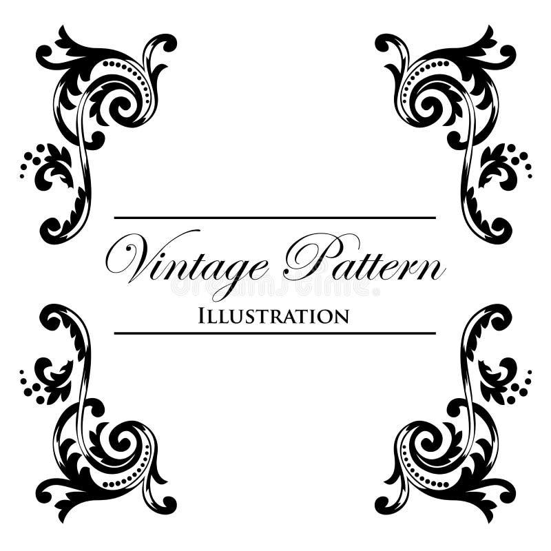 Download Design Element On A White Background Stock Illustration - Illustration of decor, classic: 23484833