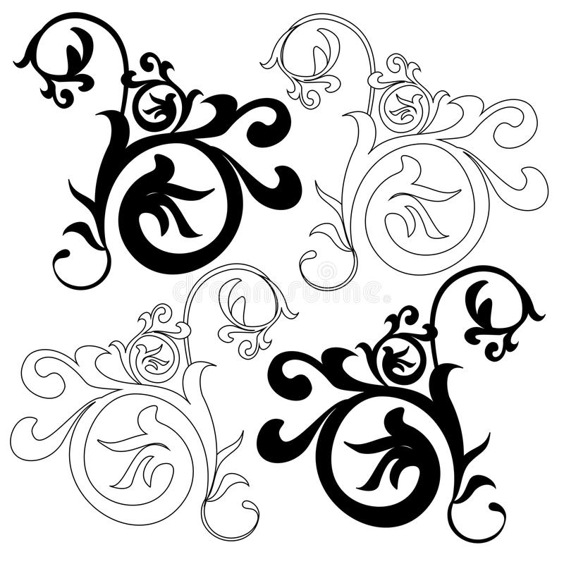 Download Design Element On A White Background Stock Illustration - Image: 23556738