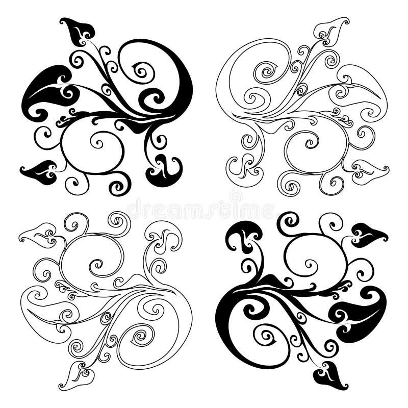 Download Design Element On A White Background Stock Illustration - Illustration: 23556739