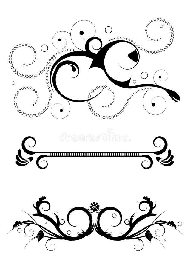 Download Design elements stock vector. Image of scroll, sign, designed - 10073635