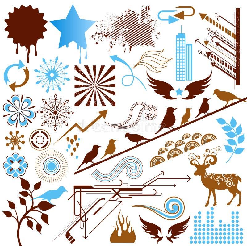 Download Design elements stock vector. Illustration of plant, background - 11603100