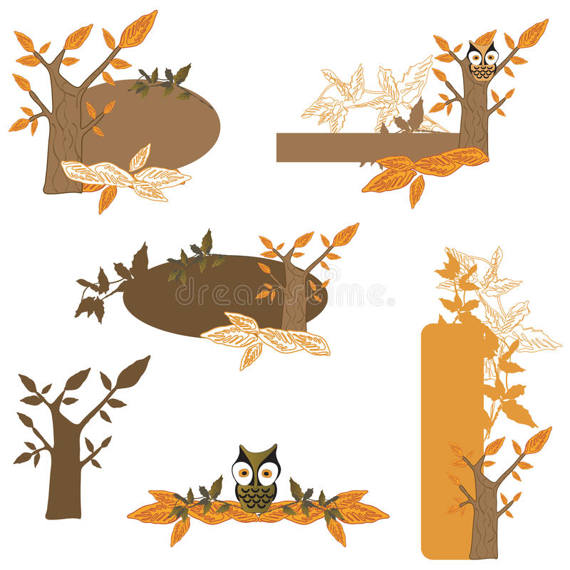 Download Design elements stock vector. Illustration of autumn - 12135733