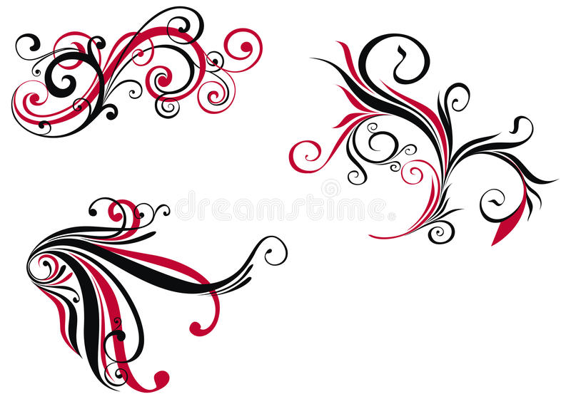 Download Design elements stock vector. Image of drawing, ornament - 13169792