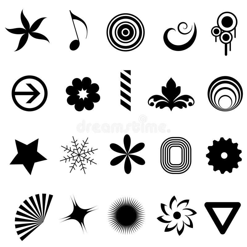 Download Design elements stock vector. Image of geometric, letterhead - 17082534