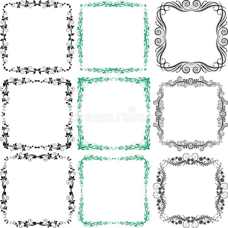 Download Design elements stock vector. Image of frames, flourish - 22303091