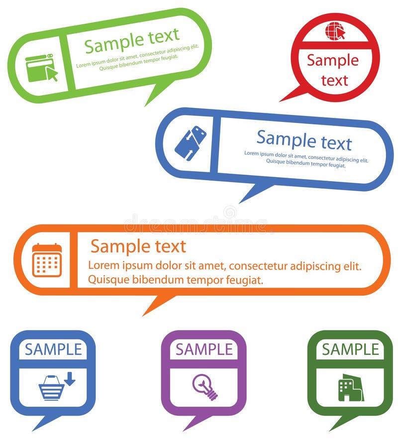 Download Design Elements stock vector. Illustration of click, blue - 25444701