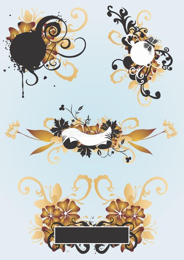 Design elements royalty free illustration