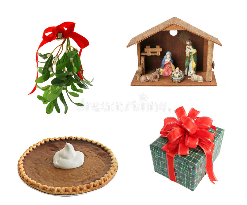Download Design Elements For Christmas Stock Image - Image: 6273191