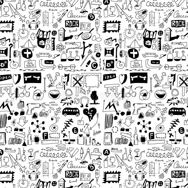 Download Design Elements Doodle Icons, Hand Drawn Stock Illustration - Image: 32545801