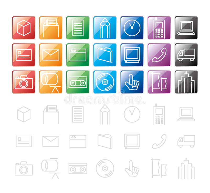 Download Design Elements / Icon Royalty Free Stock Photo - Image: 21260105