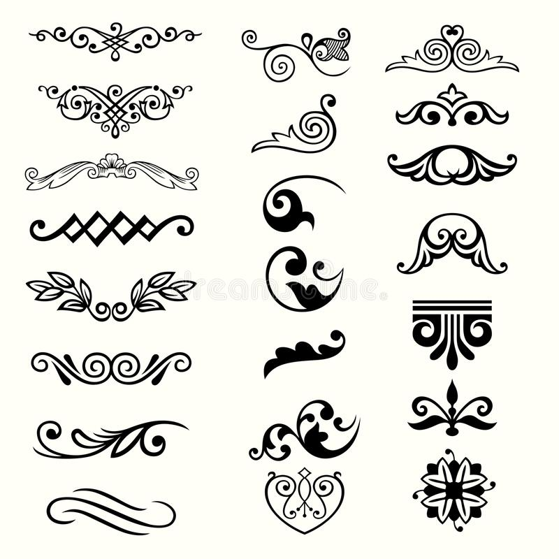 Download Design elements stock vector. Image of classical, design - 31426702