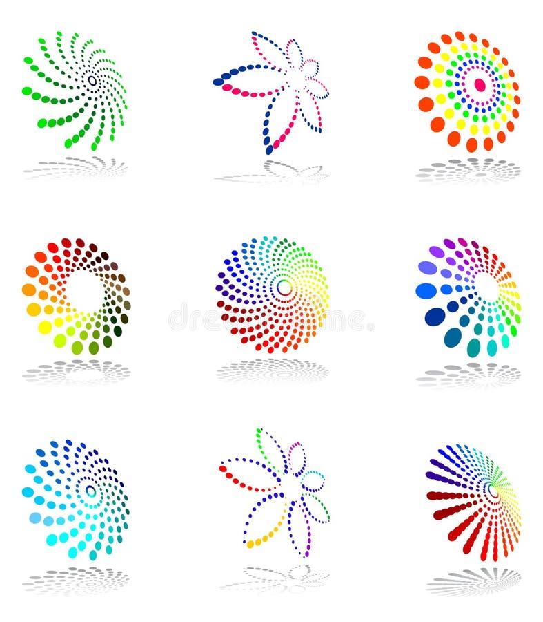 Design elements set. vector illustration