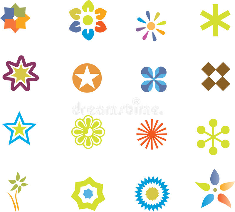 Download Design elements set. stock vector. Image of glossy, concept - 9936570