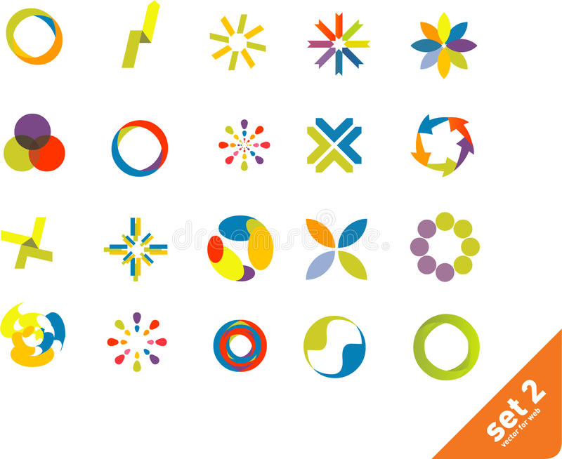 Download Design elements set. stock vector. Illustration of elegant - 9936635