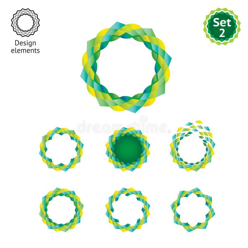 Design elements set - Pattern royalty free stock image