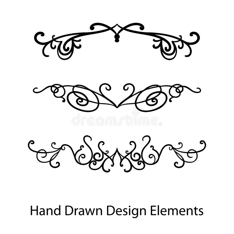 Design elements vector hand drawn fancy ornate text or paragraph download design elements vector hand drawn fancy ornate text or paragraph dividers stock vector stopboris Gallery