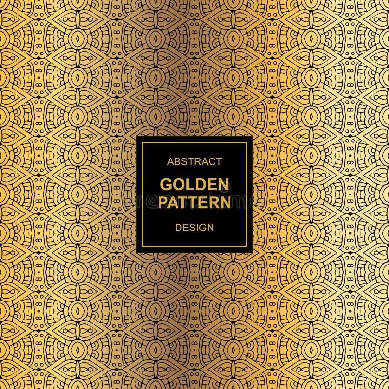 Design för abstrakt begrepp för Mayamodellbakgrund stock illustrationer