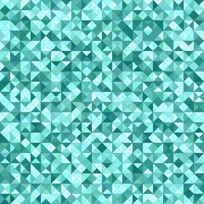Design för bakgrund för mosaik för krickafärgtriangel vektor illustrationer