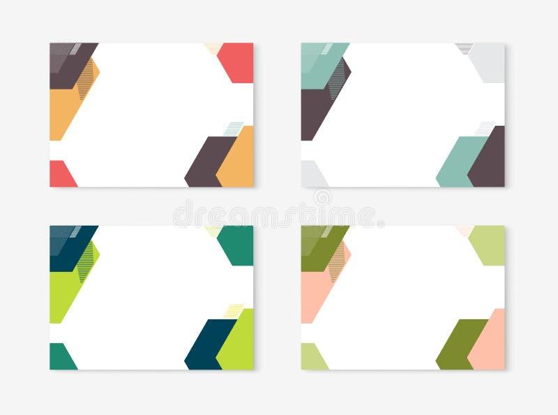 Design för diplomcertifikatmall med den internationella tryckskalan, A4, A5 också vektor för coreldrawillustration vektor illustrationer