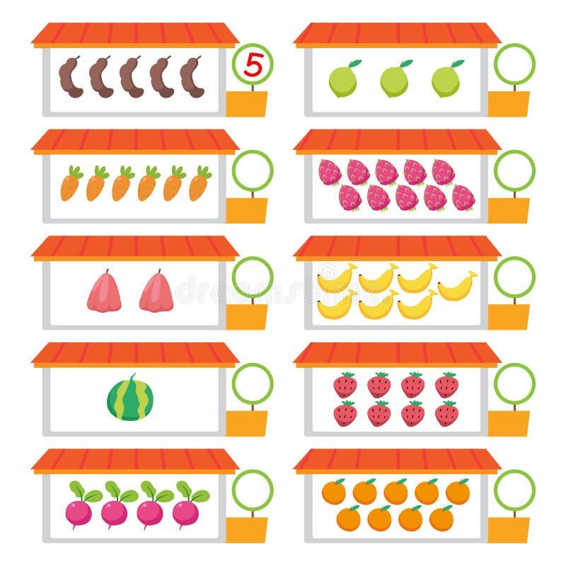 Design för djurarbetssedelvektor vektor illustrationer