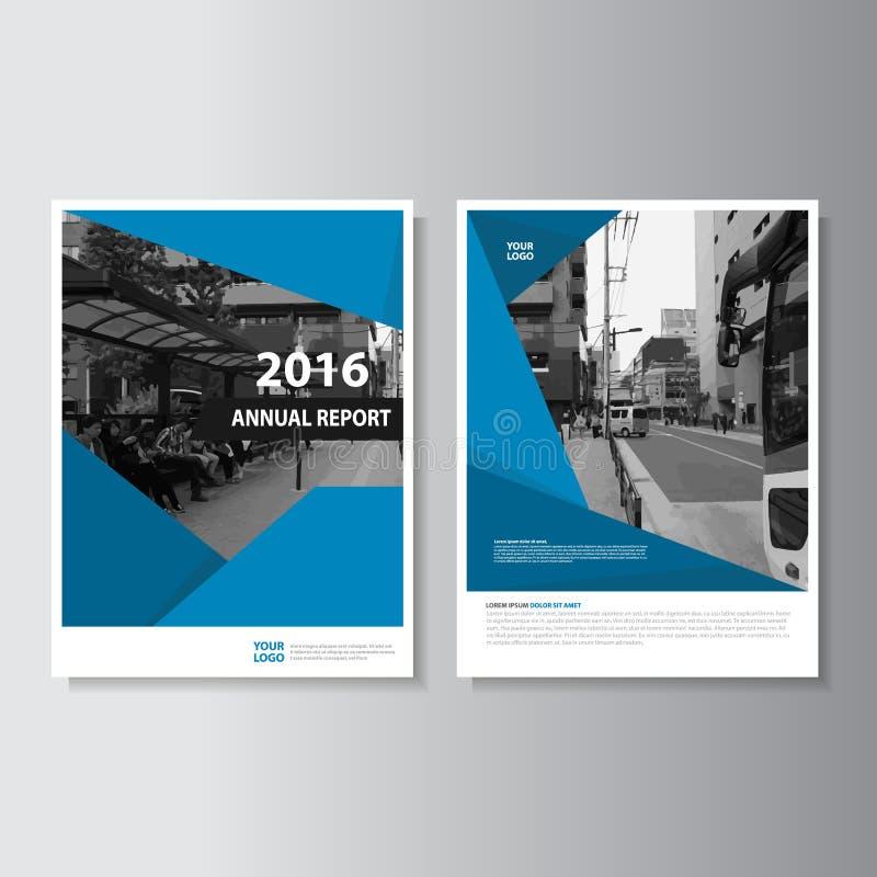 Design för format för mall A4 för reklamblad för vektorbroschyrbroschyr, design för årsrapportbokomslagorientering, abstrakt pres stock illustrationer