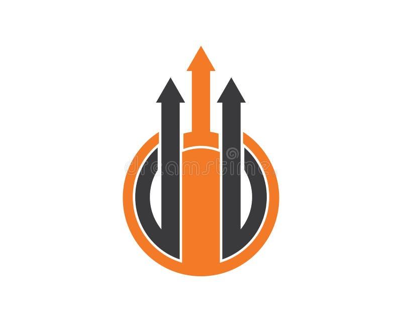 design för vektor för illustration för information om grafdiagram stock illustrationer