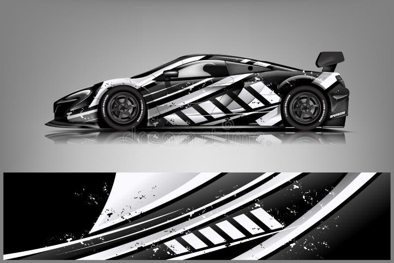 Design f?r sjal f?r springa f?r sportbil f?r designeps f?r 10 bakgrund vektor f?r tech - Mappen f?r vektorn royaltyfri illustrationer