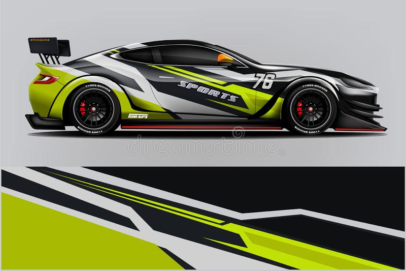 Design f?r sjal f?r springa f?r sportbil f?r designeps f?r 10 bakgrund vektor f?r tech - Mappen f?r vektorn stock illustrationer
