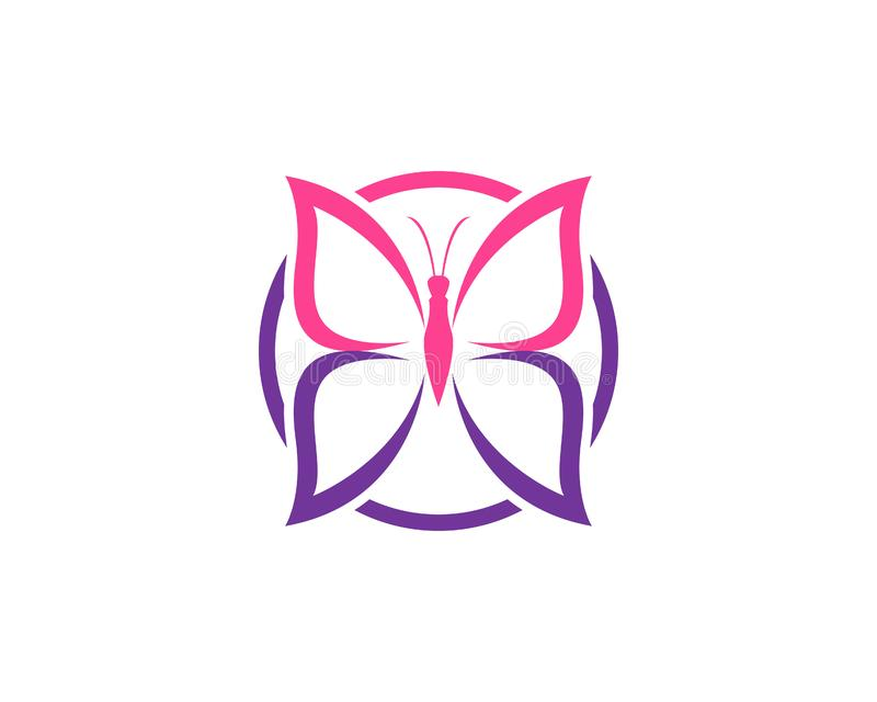 Design f?r sk?nhetfj?rilssymbol vektor illustrationer