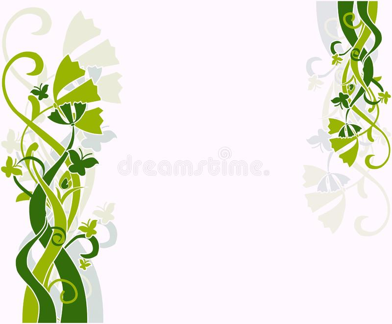 Design floral fotos de stock