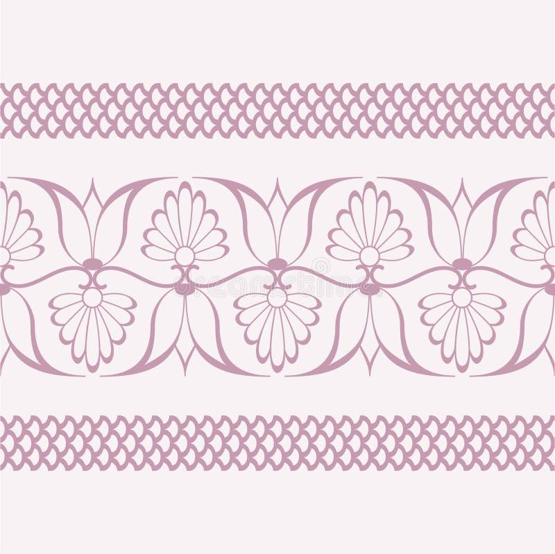 Design floral da flor cor-de-rosa delicada foto de stock royalty free