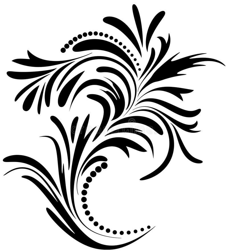 Download Design Floral Do Ornamento. Ilustração do Vetor - Ilustração de vetor, quadro: 29842591