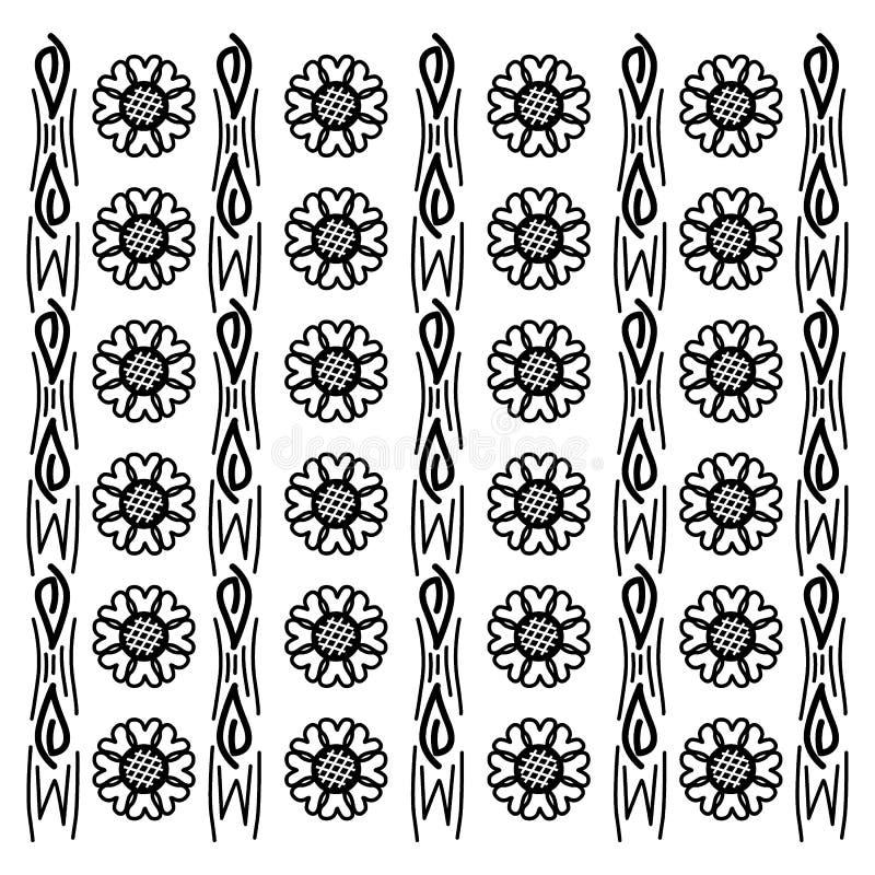 Batik Flora Stock Illustrations