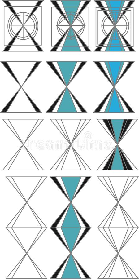 Design form element royalty free stock photography