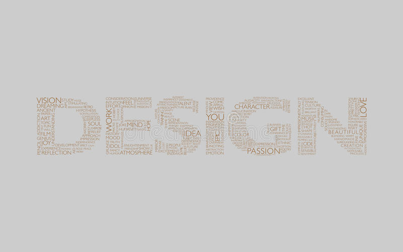 Design Grey Brown Royalty Free Stock Photography