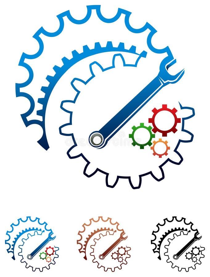 Design industriel illustration libre de droits