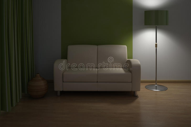 Download Design Interior. Sofa In Modern Living Room. Stock Image - Image: 16315591