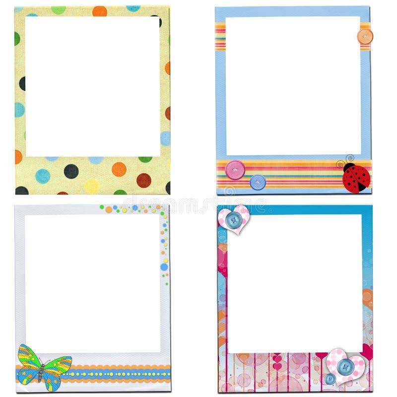 Download Design Of Kids  Photo Frame Stock Illustration - Image: 25463732