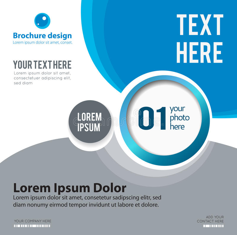 Design layout template stock illustration