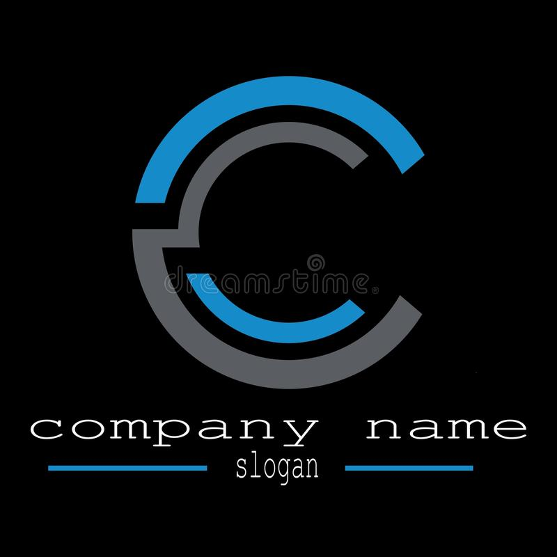Download Design Letter C Logo Template Databusiness Stock Vector